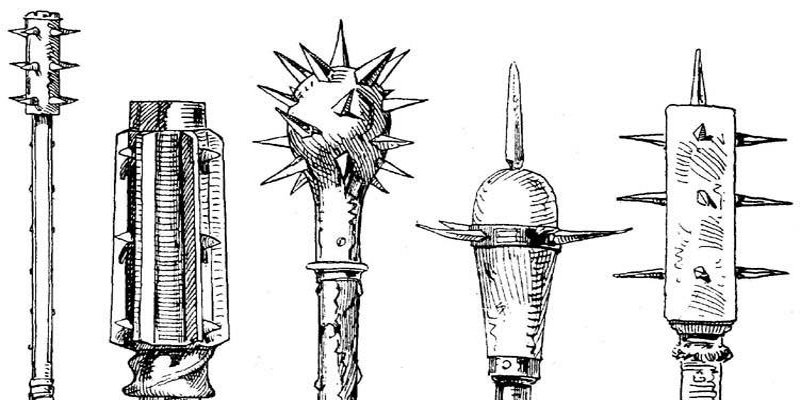 Knights weapons