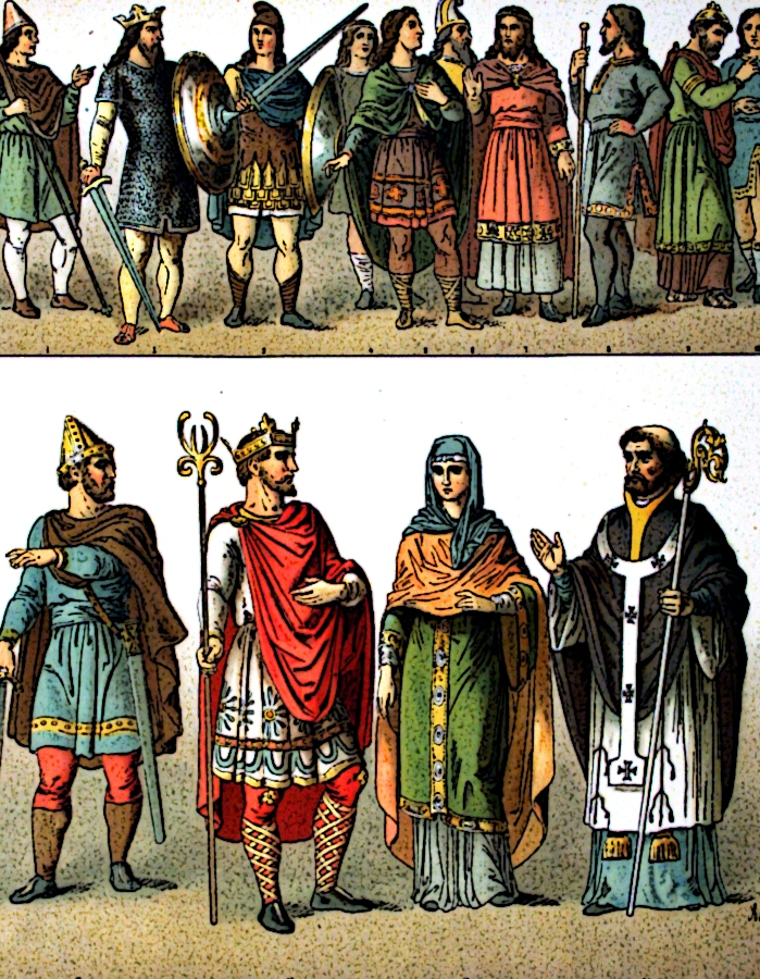 Anglo saxons wedding