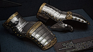 Medieval Clothing Gauntlets