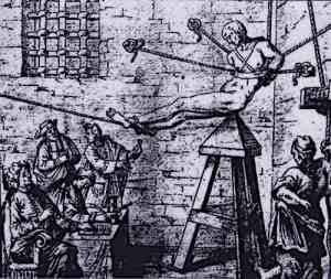 Judas Cradle Torture Device