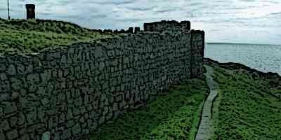 Peel Castle Ramparts