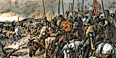 Morning of Battle of Agincourt