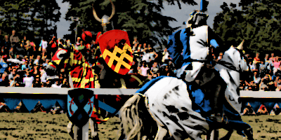 Heater Shields Used by Jousting Knights