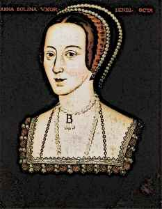 Anne Boleyn the wife of King Henry VIII