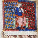 Early image of medieval king Henry I