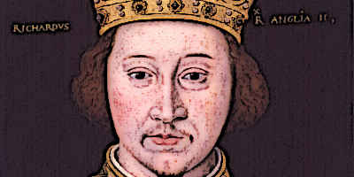 King Richard II Portrait Medieval Kings