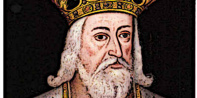 Medieval King Edward III Portrait